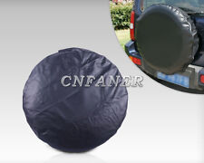 """New universal Spare Wheel Tire Tyre Soft Cover 33"""" pure black"""