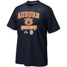 Auburn Tigers 2011 Nike BCS National Championship Game t-shirt War Eagle New