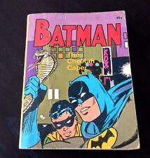 DC Comics Bob Kane BATMAN THE CHEETAH CAPER 1969 Softcover Little Big Book