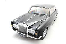 1968 ROLLS ROYCE SILVER SHADOW BLACK 1/18  PARAGON DIECAST CAR 98202