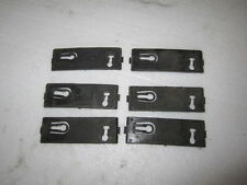 LINCOLN MARK VII 87-92 1987-1992  MOULDING CLIPS MOLDING CLIPS LARGE 6 PIECES