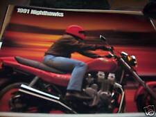 1991 Honda Nighthawks Motorcycle Brochure