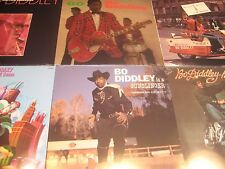 BO DIDDLEY  6 LP SET CHESS/CHECKER RECORDS LIMITED EDITION STEREO/MONO RELEASES