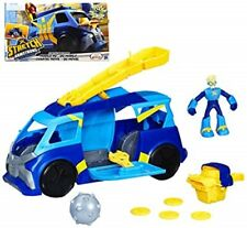 Stretch Armstrong Mobile HQ Vehicle Playset w/ Action Figure Netflix NEW