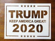 Trump 2020 Custom Stencil FAST FREE SHIPPING