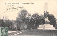 CPA 51 VITRY LE FRANCOIS LE MONUMENT DE LA REVUE