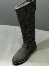 Kenneth Cole Reaction Wild Flower Girls Youth Black Boots Size Us 4/ Eur 35