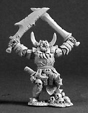 Reaper Miniatures Orc Warboss #03218 Dark Heaven Legends Unpainted Metal Figure