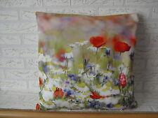 Kissenhülle, Kissenbezug, Dekokissen, Fotodruck Bunte Blumen  40x40 cm