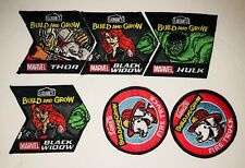 Lowe's Build And Grow Iron On Patches. 2016 Lot Of 6. 4 Avengers 2 Fire Truck