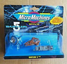 GALOOB EURO CARD BABYLON 5 MICRO MACHINES  BABYLON 5  3 VEHICLE SET FREE UK P/P