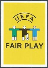 PANINI EURO 2008- #002-UEFA FAIR PLAY MOTIF