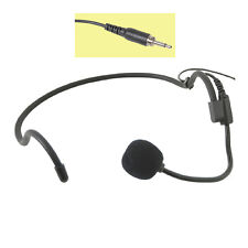 QTX REPLACEMENT HEAVY DUTY ACTIVITY HEADSET MICROPHONE 3.5mm MONO JACK 171.966