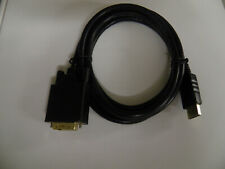 New 6ft M/M Gold Plated Display Port to DVI cable - M/M