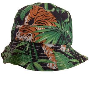 Polo Ralph Lauren Hat  bucket hat summer hat Small / Medium  Safari / Tiger