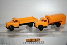 Brekina 90406 - 1/87 2Er Set Borgward B4500 - Kommunalfahrzeuge - Neu