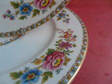"Royal Grafton, vintage MALVERN - 2 x 9.75"" Plates"