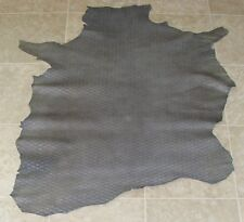 Xva6744) Hide of Grey Printed Lambskin Leather Hides Skin