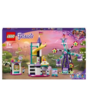 LEGO 41689 - Friends Magical Ferris Wheel and Slide Fairground - New & Sealed