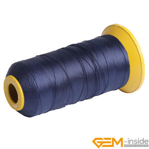 Polyester Sewing 210D Thread Spool Nylon Beading Cord Knotting 0.4mm 230 Meters