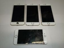 Apple iPhone 6s - 16GB - Gold A1688 & A1633 Lot of 4 Broken AS-IS