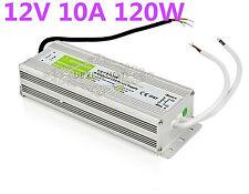 12V 10A 120W Waterproof IP67 LED Driver Transformer Power Supply LED Light Strip