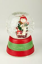 -Musical Snow Globe Water Ball Christmas Gift Music Box