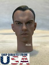 1/6 Red Skull Head Sculpt Hugo Weaving Captain America For Hot Toys Male Figure