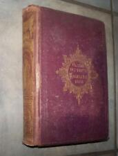 1868 OLIVER OPTIC'S MAGAZINE OUR BOYS AND GIRLS FULL YEAR ILLUSTRATED 52 ISSUES