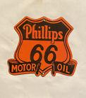VINTAGE+PHILLIPS+66+MOTOR+BADGE+PORCELAIN+SIGN+CAR+GAS+OIL+TRUCK+GASOLINE