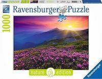 RAVENSBURGER*PUZZLE*1000 TEILE*NATURE EDITION 8*BERGWIESE IM MORGENROT*NEU+OVP