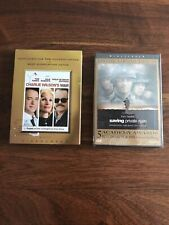 Charlie Wilson'S War and Saving Private Ryan: 2 Tom Hanks Dvds, New!