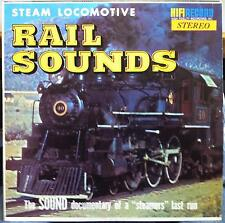 I'VE BEEN WORKING ON THE RAILROAD a farewell to steam train LP VG+ SR 901