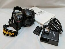 Nikon D D7000 16.2MP Digital SLR Camera - Black (Body Only) with charger