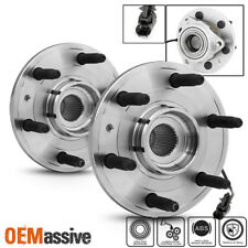 2 x 515096 FRONT Wheel Hub ABS Bearings For Escalade Avalanche Silverado Sierra