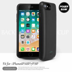 Ultra Slim Battery Charger Case 12000mAh for iPhone 6 7 8 Plus Power Charging UK