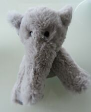 Z8- DOUDOU PELUCHE CENTRAL'VET  ELEPHANT GRIS 16 cms assis - NEUF *