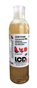 Leather cleaner coloUr dye Preparation fluid De-greaser detergent multi purpose.