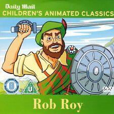ROB ROY (1987) PROMO DVD / CHILDREN'S ANIMATED CLASSIC / BURBANK FILMS AUSTRALIA