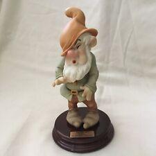 Disney Snow White & Seven Dwarfs Giuseppe Armani Sneezy Figurine Statue