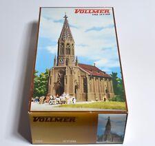 Vollmer H0 3739 Stadtkirche Stuttgart Berg 300 x 135 x 400 mm,  OVP, K001