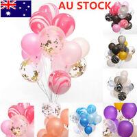 20pcs/set Wedding Birthday Balloons Latex Ballons Kids Boy Girl Party Decor AU