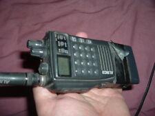 Alinco DJ180T 2 meter ham radio 2M handheld transceiver with 12v battery pack