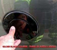 2007-2013 Chevy Silverado/GMC Sierra Fuel Door Gas Cap Cover Gloss Black