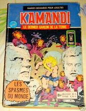 Kamandi Relié N° 5 et N°6 Année 1976