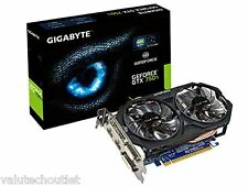 Gigabyte NVIDIA GTX 750Ti 2GB 128-bit DDR5 Dual link PCI-E Graphics Card