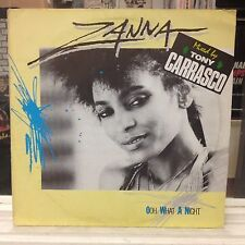 "NM 12""~ZANNA~Oh What A Night~[4:00]~Remix~[6:00]~~[OG 1986 ZYX~GERMAN IMPORT]"