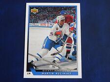 1993-94 Upper Deck UD Series 1 #6 Martin Rucinsky Quebec Nordiques
