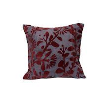 Utopia Velvet Flocking Living Bedroom Square Cushion Cover 45 x 45 cm