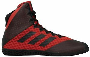 adidas Mat Wizard 4 Wrestling Shoes Boxing Boots Ringerschuhe Lutte BC0532 Red